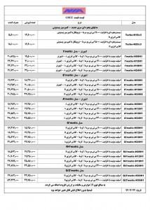لیست قیمت کولرهای گری با ضمانت نامه نیا - اجنرال