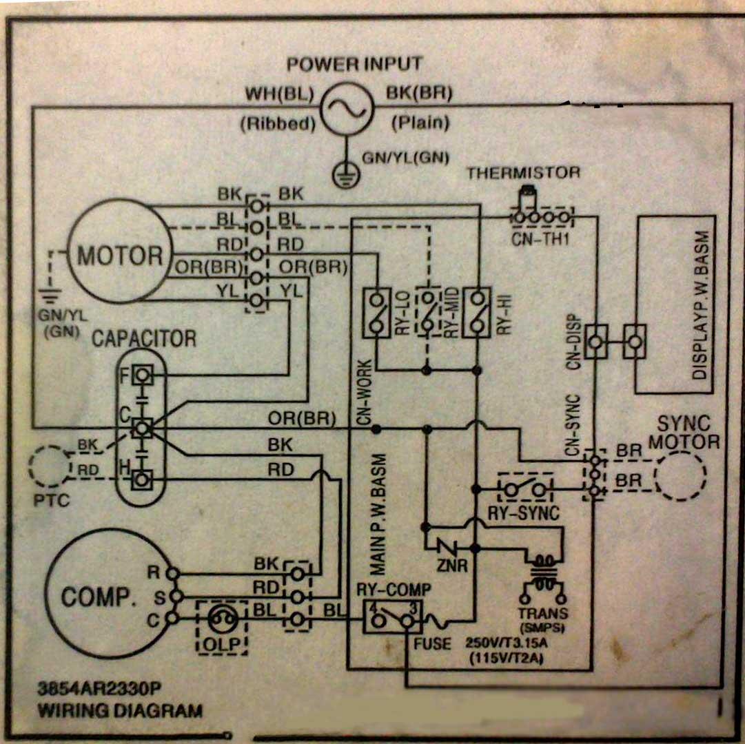 سیم کشی برق کولر گازی